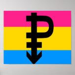 Bandera Pansexual Impresiones