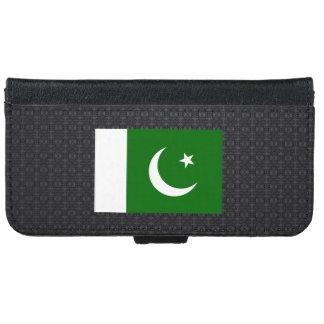 Bandera paquistaní funda cartera para iPhone 6
