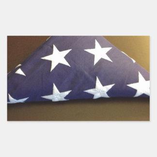 Bandera para un héroe caido - estrellas del azul y rectangular altavoces