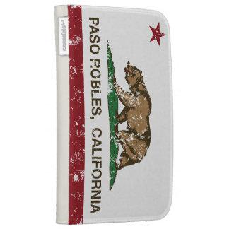 Bandera Pasa Robles del estado de California