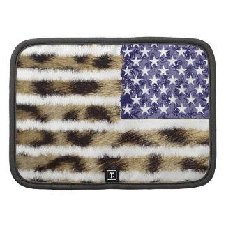Bandera patriótica americana de los E E U U del e Planificadores