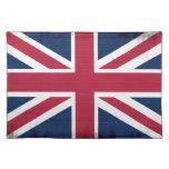 Bandera patriótica de Gran Bretaña, Union Jack, Manteles Individuales