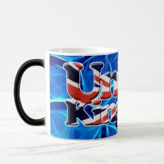 Bandera patriótica de Gran Bretaña, Union Jack, Taza Mágica