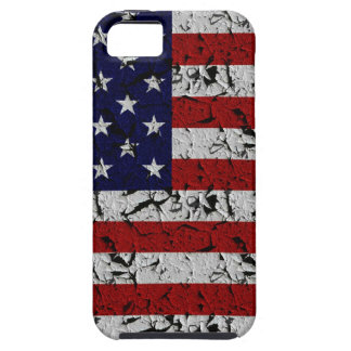 Bandera patriótica de los E.E.U.U. del americano Funda Para iPhone SE/5/5s