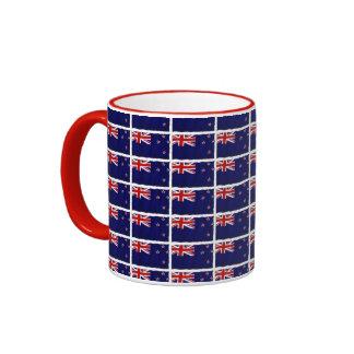 Bandera patriótica de NZ de Nueva Zelanda para los Taza A Dos Colores