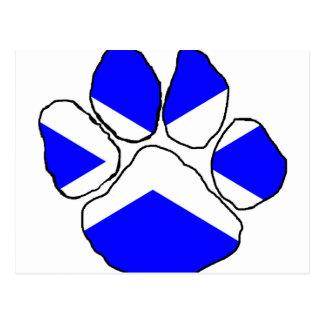 Bandera paw.png de Escocia Postal