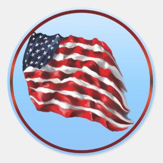 Bandera-Pegatinas intrépidos