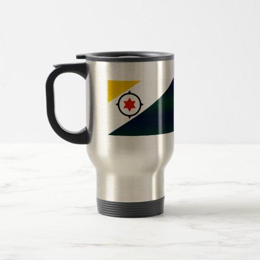 Bandera pelada moderna de Bonairian Tazas