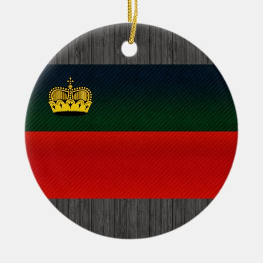 Bandera pelada moderna de Liechtensteiner Adorno Redondo De Cerámica