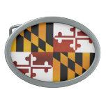 Bandera pelada moderna de Marylander Hebillas Cinturón