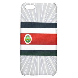 Bandera pelada moderna de Rican de la costa