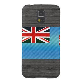 Bandera pelada moderna del Fijian Carcasas Para Galaxy S5