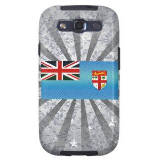 Bandera pelada moderna del Fijian Galaxy S3 Fundas