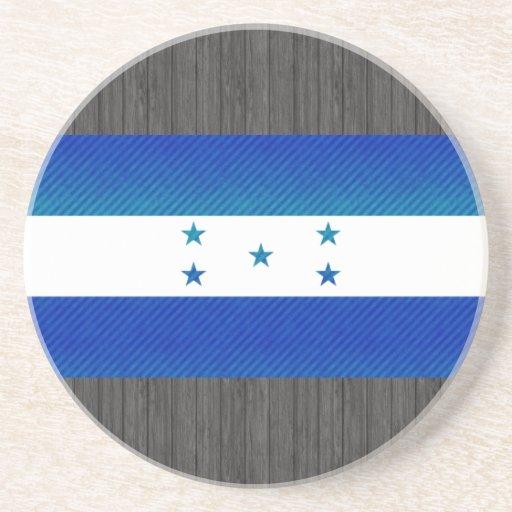 Bandera pelada moderna del Honduran Posavaso Para Bebida