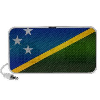 Bandera pelada moderna del isleño de Solomon iPhone Altavoces