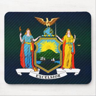 Bandera pelada moderna del neoyorquino alfombrilla de raton
