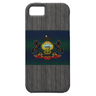 Bandera pelada moderna del Pennsylvanian iPhone 5 Case-Mate Coberturas