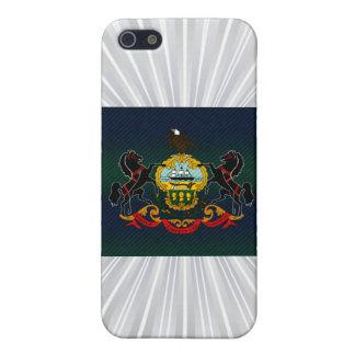 Bandera pelada moderna del Pennsylvanian iPhone 5 Coberturas