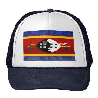 Bandera pelada moderna del Swazi Gorras De Camionero