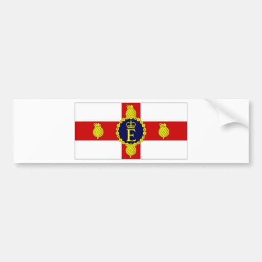 Bandera personal de Jamaica del HM la bandera de l Pegatina Para Auto