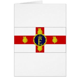 Bandera personal de Jamaica del HM la bandera de l Tarjeta De Felicitación