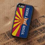 Bandera personalizada de Arizona Funda Para iPhone 6 Tough Xtreme