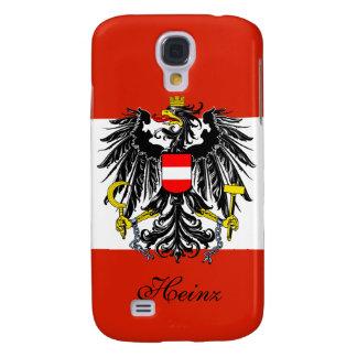 Bandera personalizada de Austria Funda Para Galaxy S4