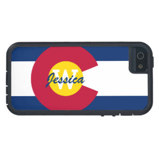 Bandera personalizada de Colorado iPhone 5 Cobertura
