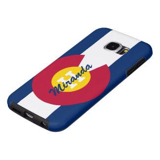 Bandera personalizada de Colorado Fundas Samsung Galaxy S6