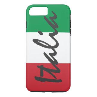 Bandera personalizada de Italia Funda iPhone 7 Plus