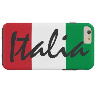 Bandera personalizada de Italia Funda Resistente iPhone 6 Plus