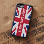 Bandera personalizada de Union Jack Funda Para iPhone 6 Tough Xtreme