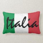 Bandera personalizada del italiano de Italia Cojín