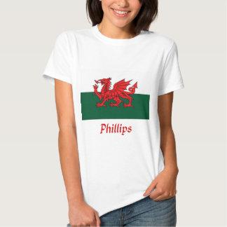 Bandera Phillips Galés Poleras