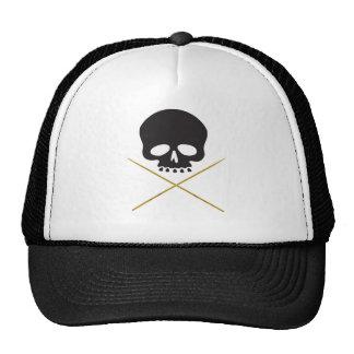 Bandera pirata del cráneo y del palillo gorra