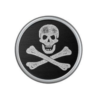 Bandera pirata del pirata del vintage altavoz