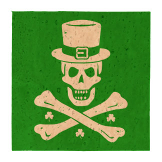 Bandera pirata irlandesa posavasos