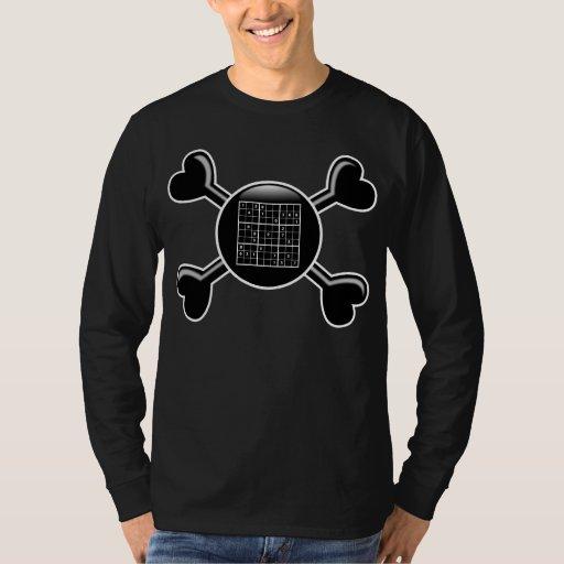 Bandera pirata Sudoku Remeras