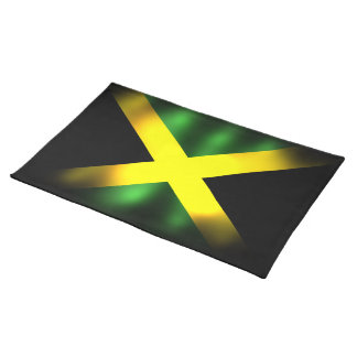 Bandera Placemat de Jamaica Manteles Individuales