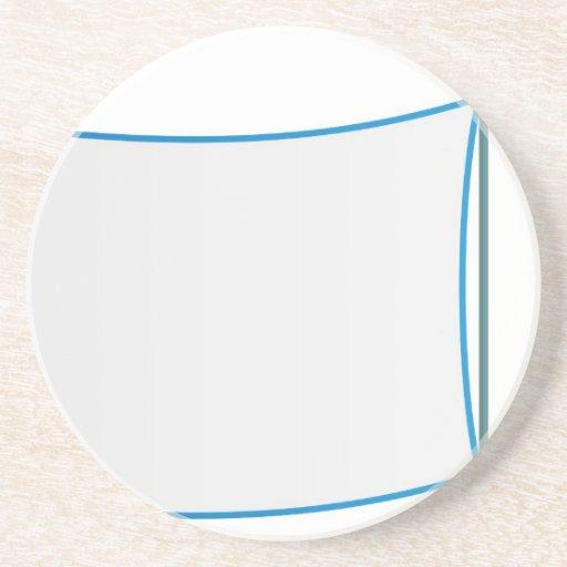 Bandera plana del remolque de la mascota del dibuj posavasos personalizados