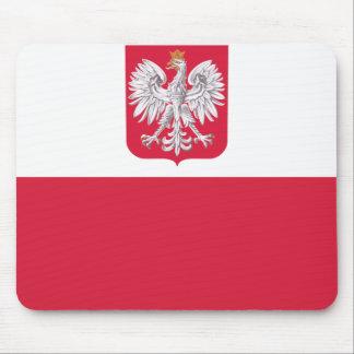Bandera polaca alfombrilla de ratones