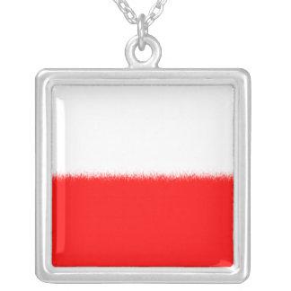 Bandera polaca collar personalizado