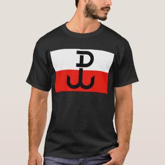 Bandera polaca de la resistencia playera