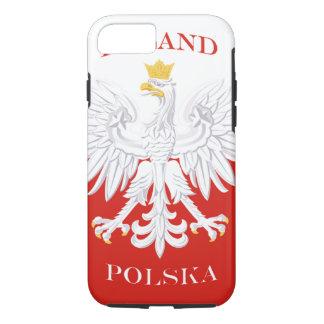 Bandera polaca de Polonia Funda iPhone 7