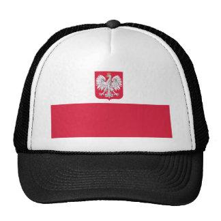 Bandera polaca gorras de camionero