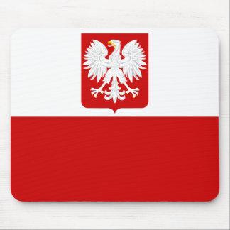Bandera polaca Mousepad
