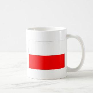 BANDERA POLACA TAZA DE CAFÉ