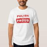 Bandera polaca y orgullosa polera
