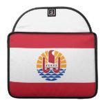 Bandera polinesia fundas para macbook pro
