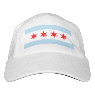 Bandera popular de Chicago, Illinois Gorra De Alto Rendimiento